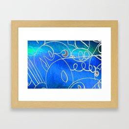 Curves at Seaside Framed Art Print