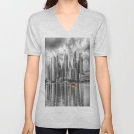 Singapore Marina Bay Sands Unisex V-Neck