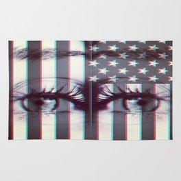 star spangle eyes. Rug