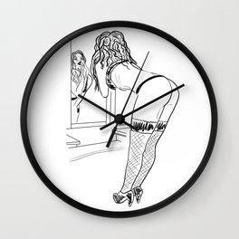 Mirror mirror Wall Clock