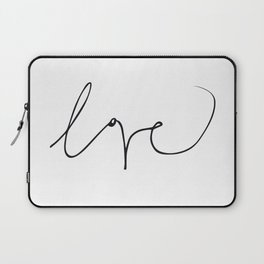 LOVE NO3 Laptop Sleeve