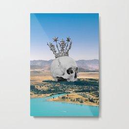 King for nothing Metal Print