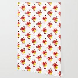 Bright Flower Blooms Wallpaper