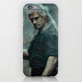 Geralt of Rivia (The Witcher) Andrezj Sapkowski iPhone Case