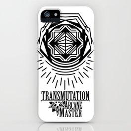 Transmutation arcane master iPhone Case