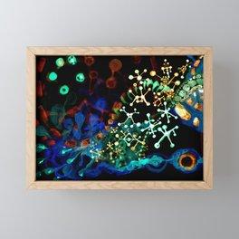 building blocks Framed Mini Art Print