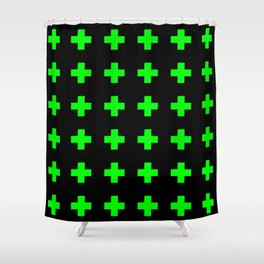 Greek Cross 3 Shower Curtain