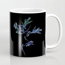 Winter Tree Fractal Coffee Mug