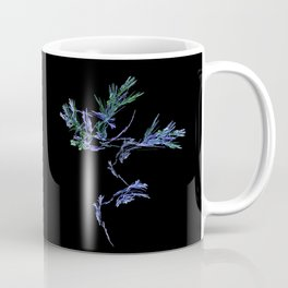 Winter Tree Fractal Coffee Mug