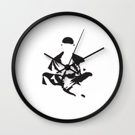 zenlightenment inverted Wall Clock