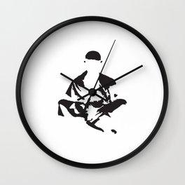 zenlightenment inverted Wall Clock