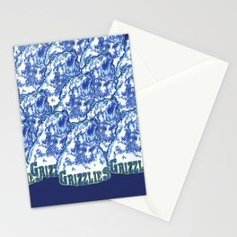 GRIZZLIES HAND-DRAWING DESIGN Stationery Cards