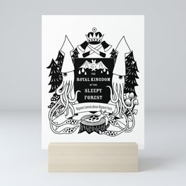 The Royal Kingdom of the Sleepy Forest Mini Art Print
