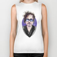 tim shumate Biker Tanks featuring TIM BURTON by ●•VINCE•●