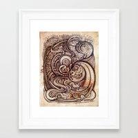 inception Framed Art Prints featuring Inception by Irina Vinnik