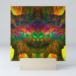 FEATHERS X Mini Art Print