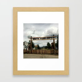 SouthPark Colorado Framed Art Print