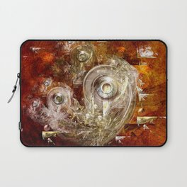 Rings and discs Laptop Sleeve