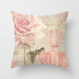 Perfume and Roses I Throw Pillow