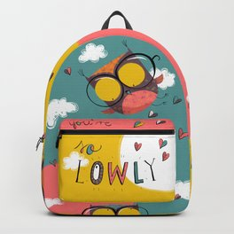 You're so l-OWL-y Backpack