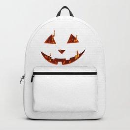 happy halloween bonfire Pumpkin gift hallowe Backpack