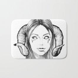 Demon Girl Bath Mat
