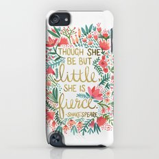 Little & Fierce Slim Case iPod touch