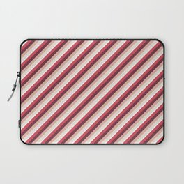 Pomade Tones Inclined Stripes Laptop Sleeve