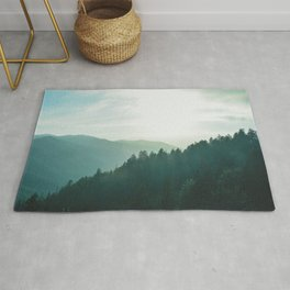Green Forest, Slow down! Rug