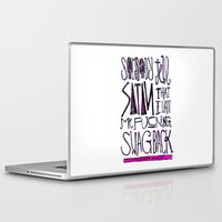splatter Laptop & iPad Skins featuring Splatter by Matt Smiroldo