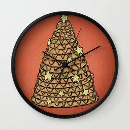 K is for Kransekake Wall Clock