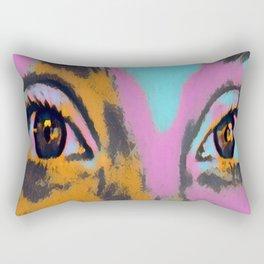 Eyes of Wonder Rectangular Pillow