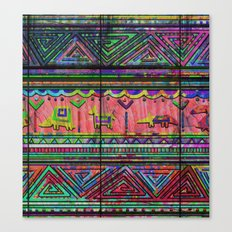 Cobertor Nativ Canvas Print