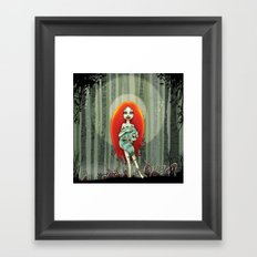 Forest fairey Framed Art Print