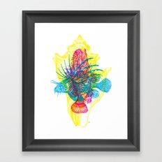 Ocean Creatures Framed Art Print
