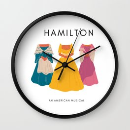 Halmilton an musical Wall Clock