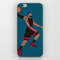 lebron iPhone & iPod Skins featuring Lebron by rusto