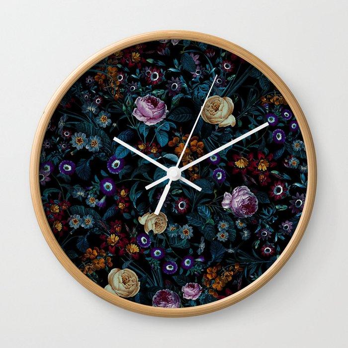 Night Garden XXXIII Wall Clock