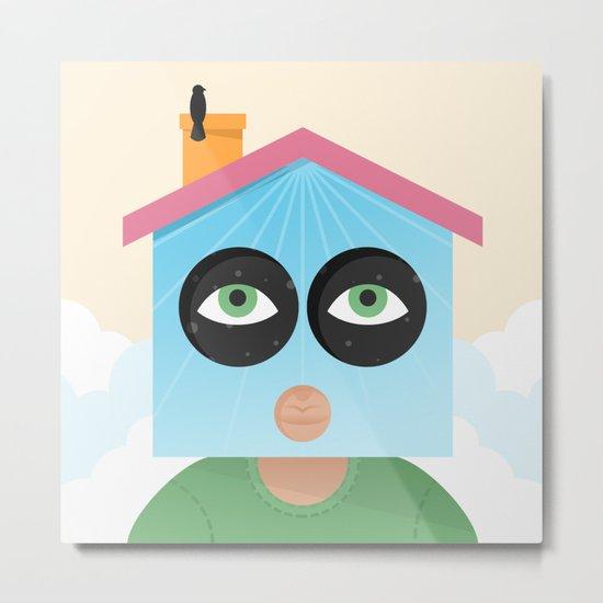 House of Birds Metal Print
