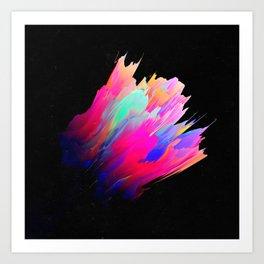 Panteleḗmōn (Abstract 38) Art Print