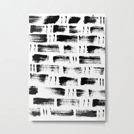 Dots & Dashes Metal Print