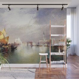The Splendor of Venice, Italy by Thomas Moran Wall Mural