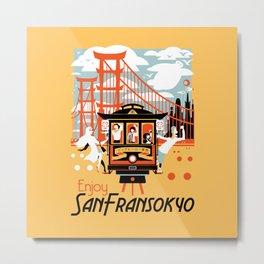Enjoy San Fransokyo Metal Print