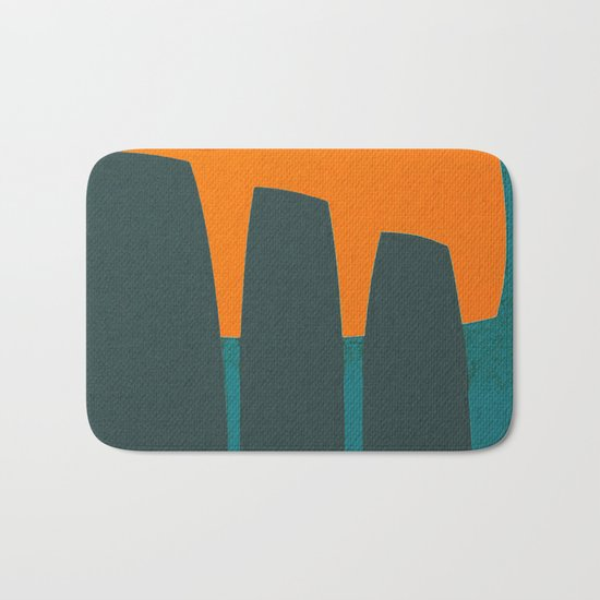 Indigenous Peoples in Easter Island Bath Mat