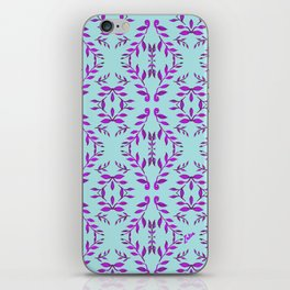 zakiaz holli blue iPhone Skin