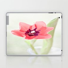 Pretty Pink Tulip Laptop & iPad Skin