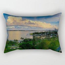 Panorama of The Gold Coast Rectangular Pillow