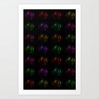 BUDDHA PHONE  Art Print