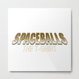 Spaceball Metal Print