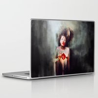 fitzgerald Laptop & iPad Skins featuring Bonhomie by adroverart